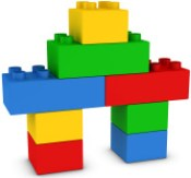 Simple Lego House Structure