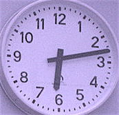 613 clock time