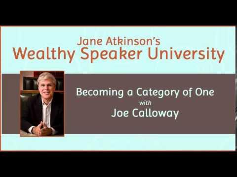 Jane Atkinson interviews Joe Calloway