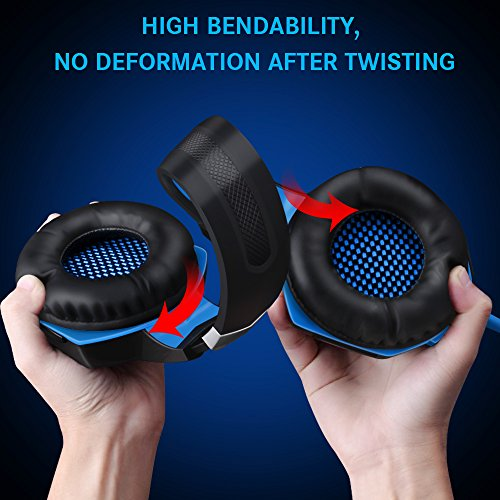 VersionTECH G2000 Stereo Gaming Headset For Xbox One PS4 PC Surround Sound Over Ear Headphones