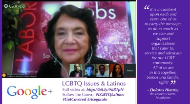 Dolores Huerta on LGBTQ Latinos