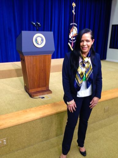 At the White House. December 2013.