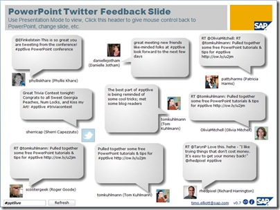 10 tools for presenting with Twitter
