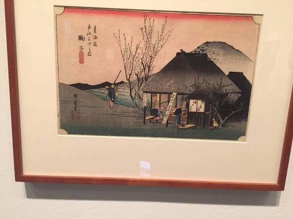 Mariko: famous Tea Shop', Utagawa Hiroshige