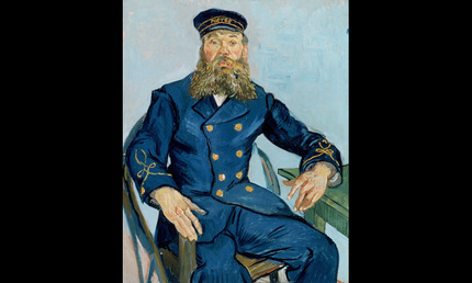 Vincent van Gogh Postman Joseph Roulin
