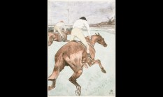 Henri De Toulouse-Lautrec, The Jockey