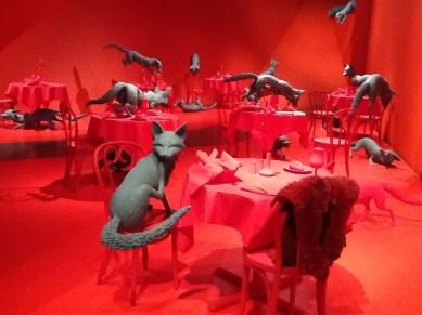 An art installation at the Denver Art Museum. July, 2012.
