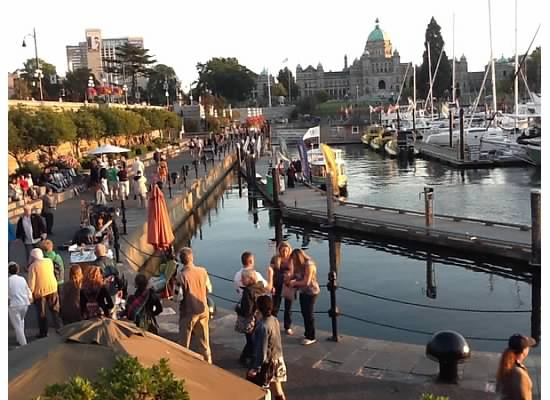 Beautiful waterfront, Victoria. Sep, 2012.