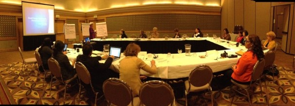 A work meeting in Los Angeles, November, 2012. It was a very productive meeting. I created another blog on this event.