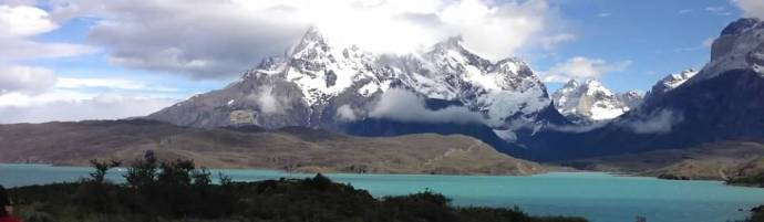 Beautiful Torres del Paine, Chile, Dec, 2012