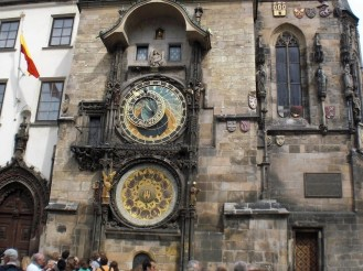 Clock tower in Prague