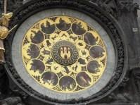 Clock in Prague