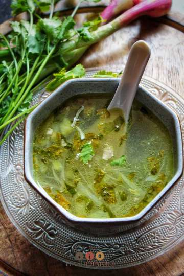 Clear Chicken Soup Recipe