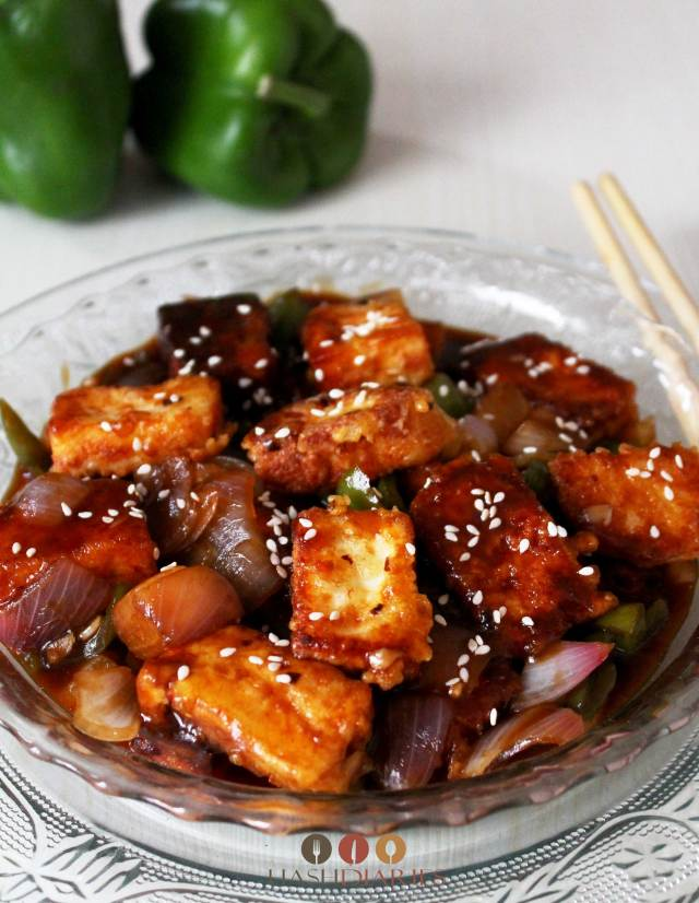 Honey Chili Paneer Recipe