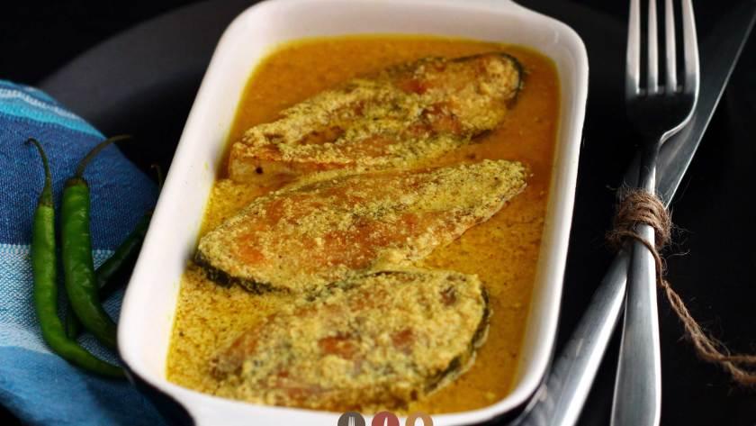 Shorshe Illish Maacher Jhal recipe