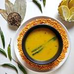 Bengali Arhar Dal Recipe Panchphoron Dal