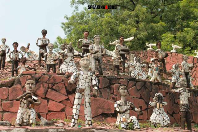 rock garden chandigarh art