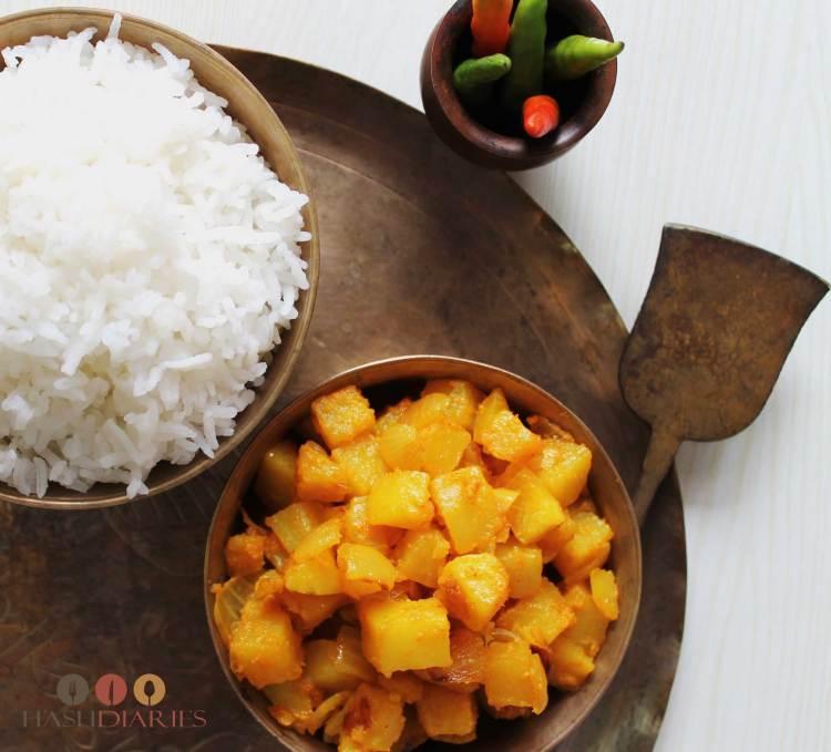 Aloo Peyaj Posto Bengali Recipes