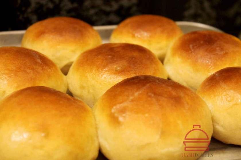 Mozzarella Stuffed Buns Recipe