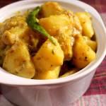 Yogurt Potato Masala recipe
