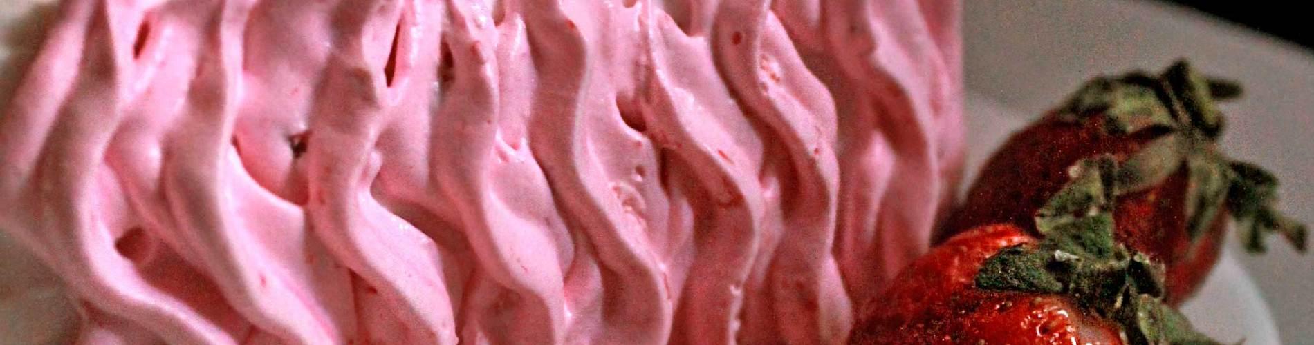 Strawberry Fruit Cream Cake Recipe
