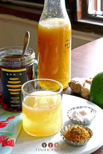Bengali Aam Panna Recipe Aam Porar Shorbhot