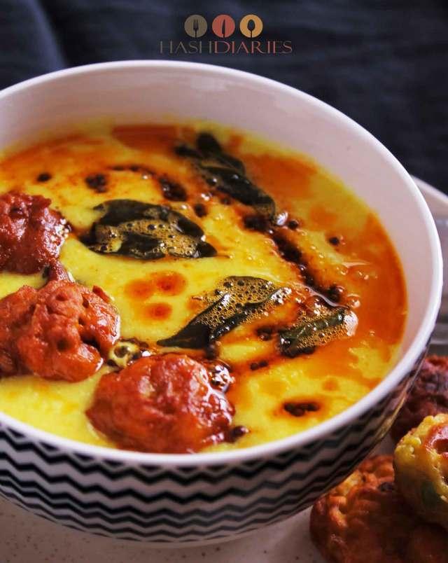 Punjabi Kadhi Pakoda Recipe