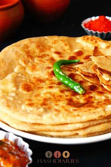 Chatur Parantha Breakfast recipe