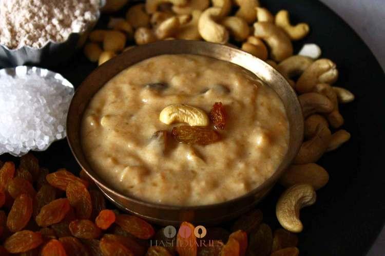 Bengali Satyanarayan Pujo Shinni Prasad recipe