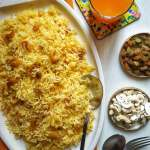 Orange Pulao Recipe