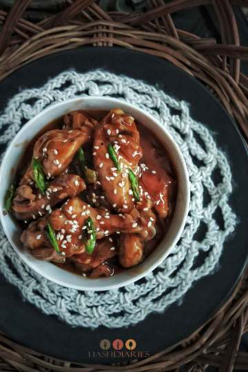 Spicy Honey Garlic Chicken Recipe