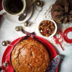 Christmas Eggless Cake Recipe