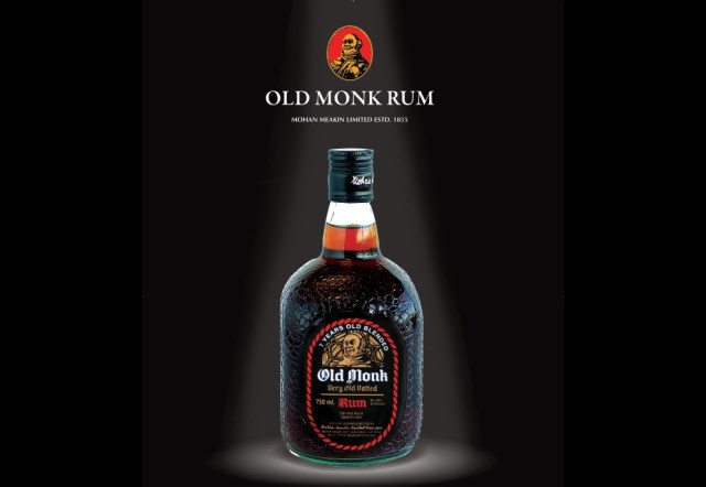 Old Monk Rum - top rum brands in India with price List
