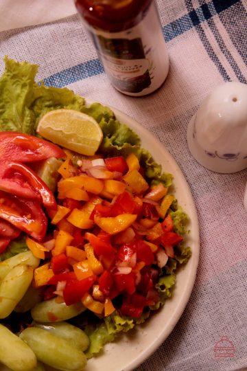 Tropical Garden Salad Recipe with SPRIG Hot Sauce