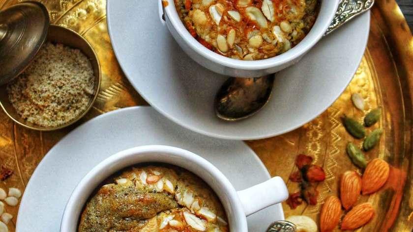Thandai Powder Mug Cake Recipe