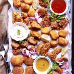 Indian Pakoras Recipe Vegetable Onion Paneer