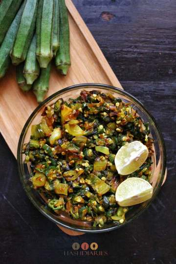 Stir-fry Bhindi recipe