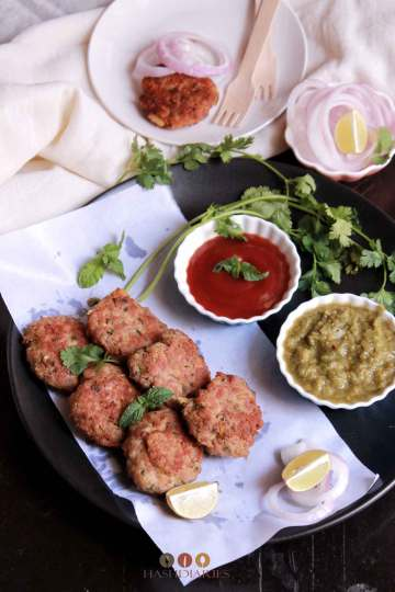 Chicken Kebab Recipe - Shami Kebab recipe