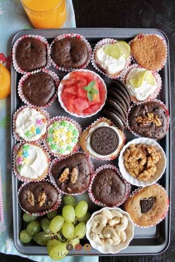 Cupcake Platter - Dessert Grazing Board ideas