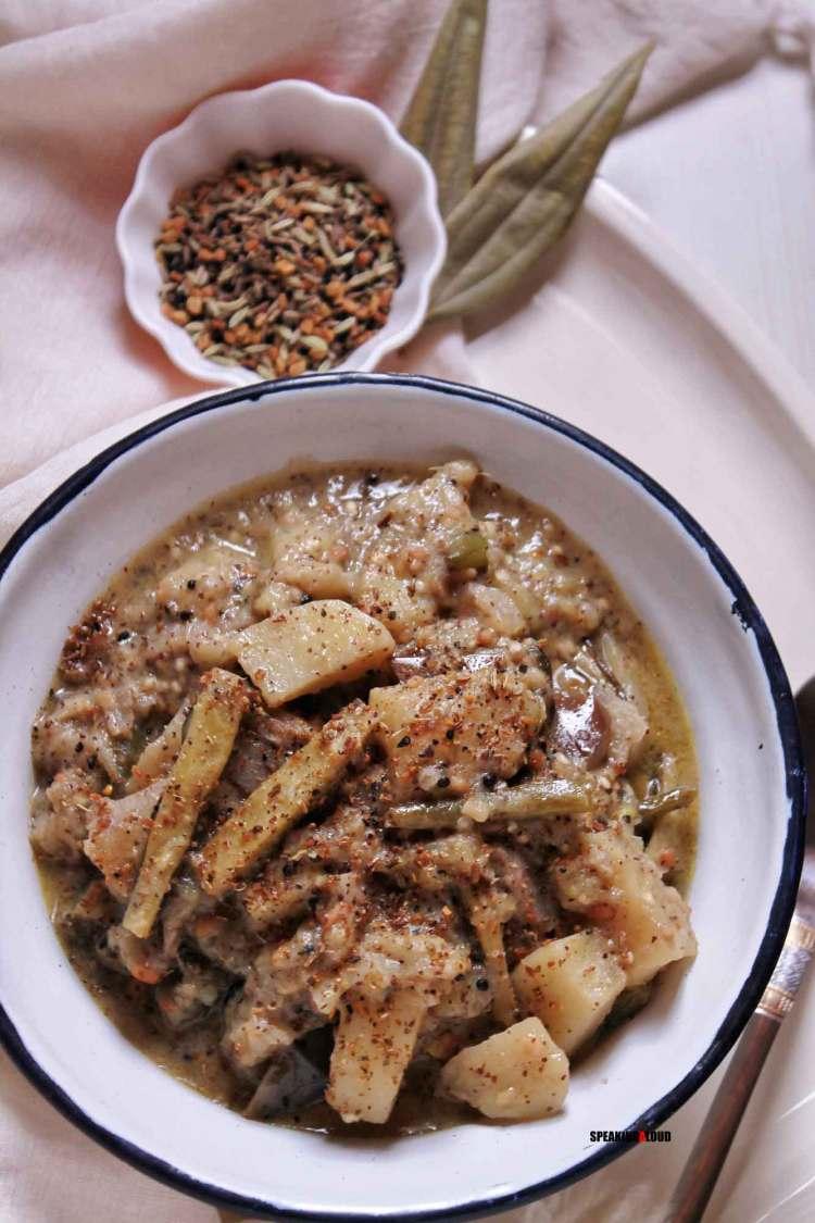 Shukto recipe Bengali