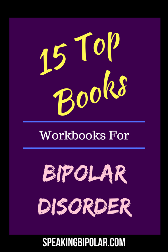 Living with bipolar disorder brings its own unique challenges. This post considers the top 15 books to help you survive bipolar. | #bipolar #mentalillness #books #workbook