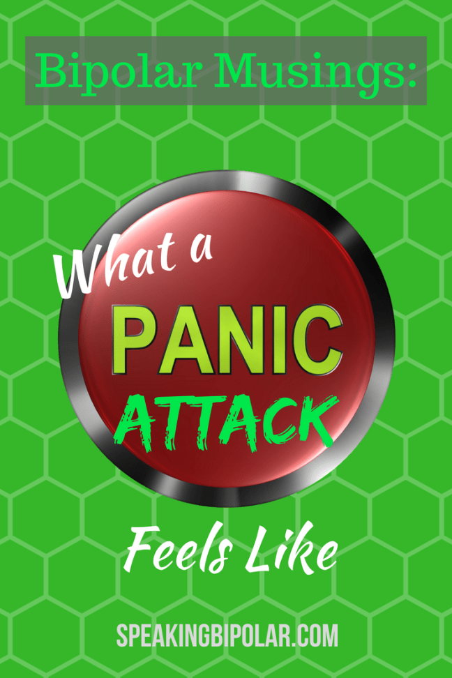 What does a panic attack feel like? Read a blogger's personal experience.   #anxiety #panicattack #bipolar