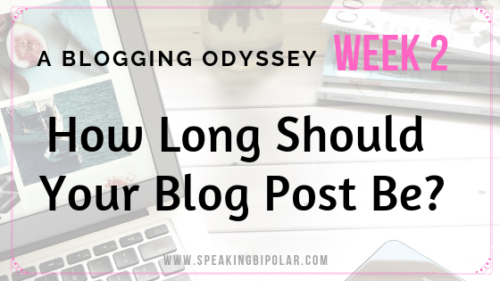 How long should a blog post be? Does it matter? Read some facts that one blogger found in his blogging odyssey.   #blog #blogging #blogger #bloglength