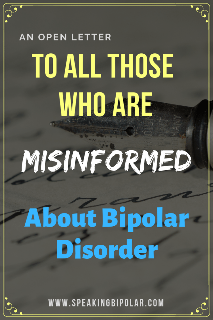 Learn the truth about bipolar disorder and read how the media usually gets it wrong. | #bipolar #mentalillness