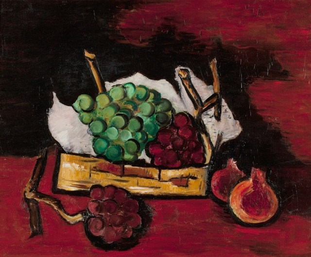 Hartley_GREEN_AND_PURPLE_GRAPES_IN_A_BASKET