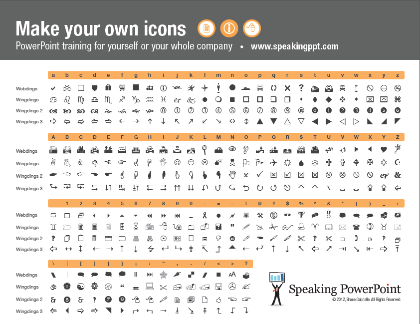 You can type the character in Webdings or Wingdings, just find the equivalent letter in this handy cheat sheet.