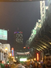 The Prudential Center from Fenway