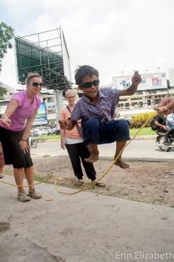 Fun in the street, PP