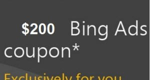 200$ Bing Coupon