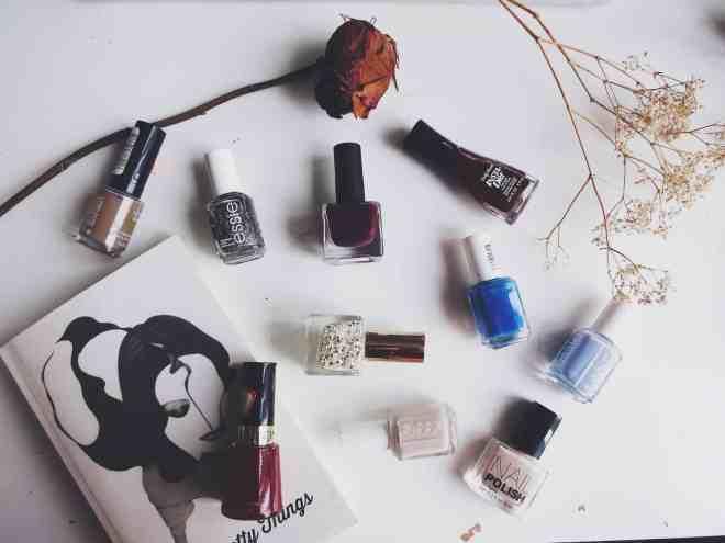 favourite nail polishes !